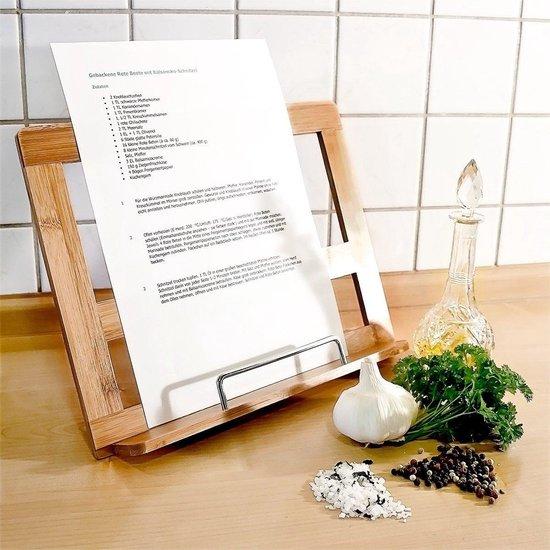 cadeau voor een kookliefhebber - standaard voor kookboek