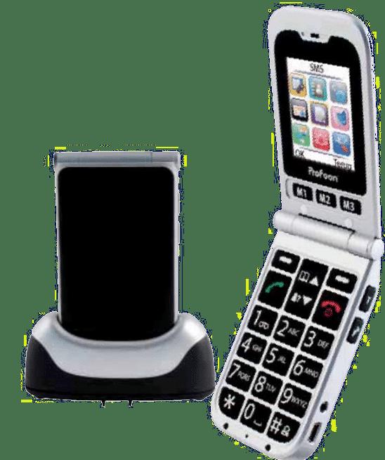 mobiele telefoon voor ouderen - cadeau voor oudere vrouw
