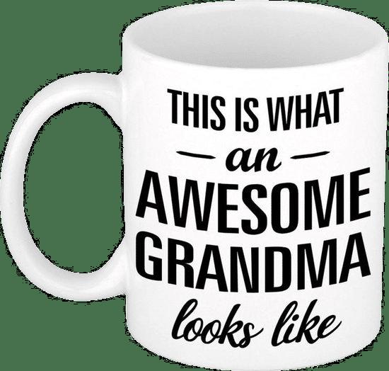 grappige mok voor oma