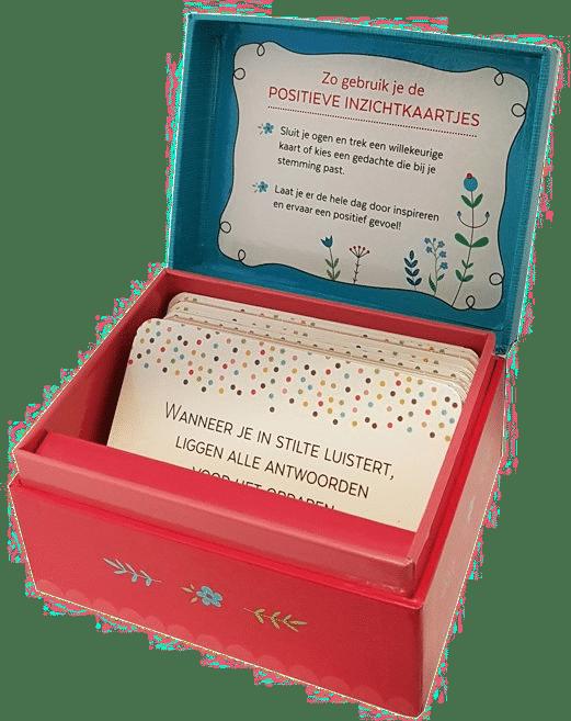 denk positief - inspirerend cadeau