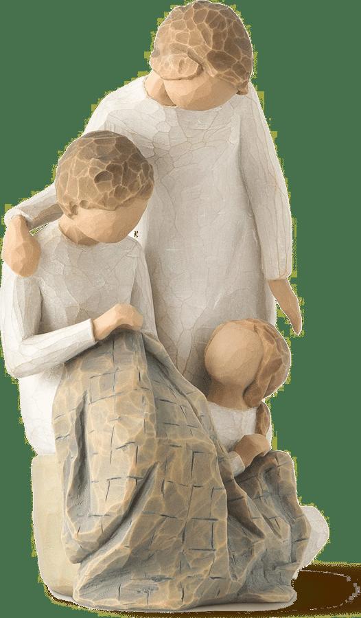 beeldje voor oma - drie generaties