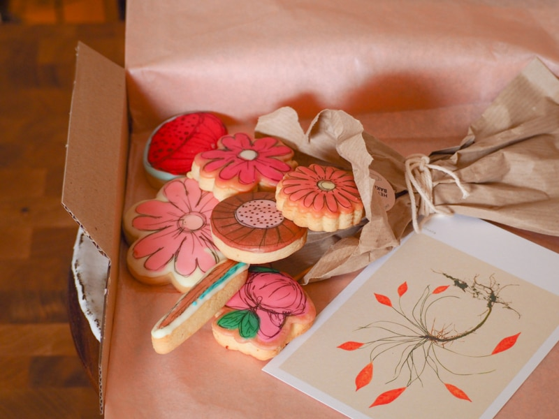 koekjes per post - cadeau voor oma 80 jaar