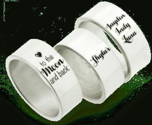 ring met namen - cadeau voor oma van kleinkinderen