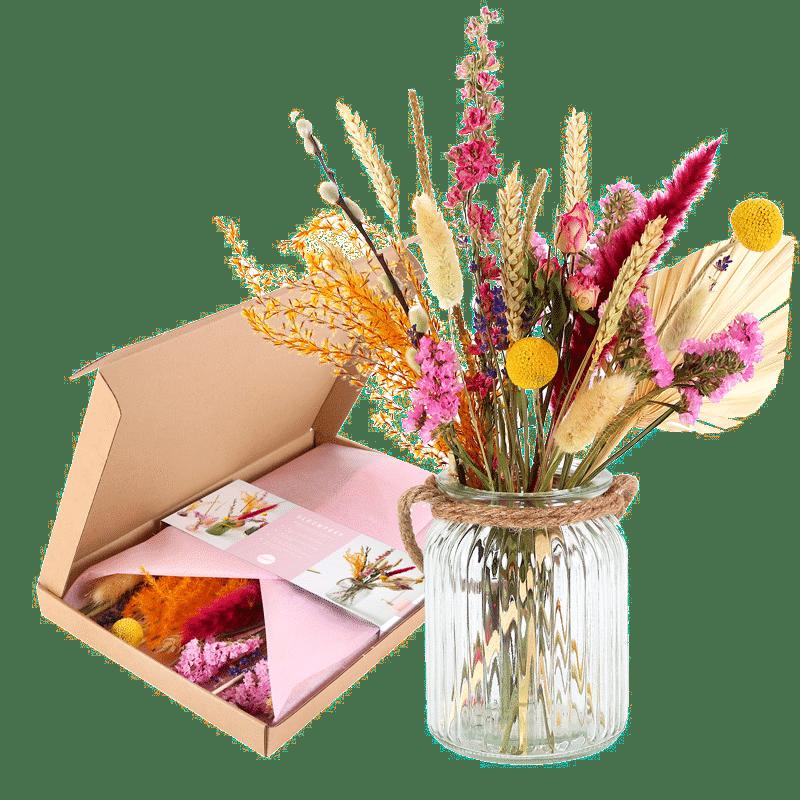 droogbloemen boeket - cadeau voor oma