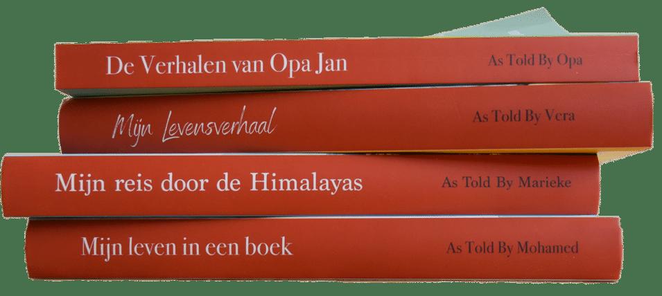 Cadeau voor Oma - autobiografie schrijven met hulp