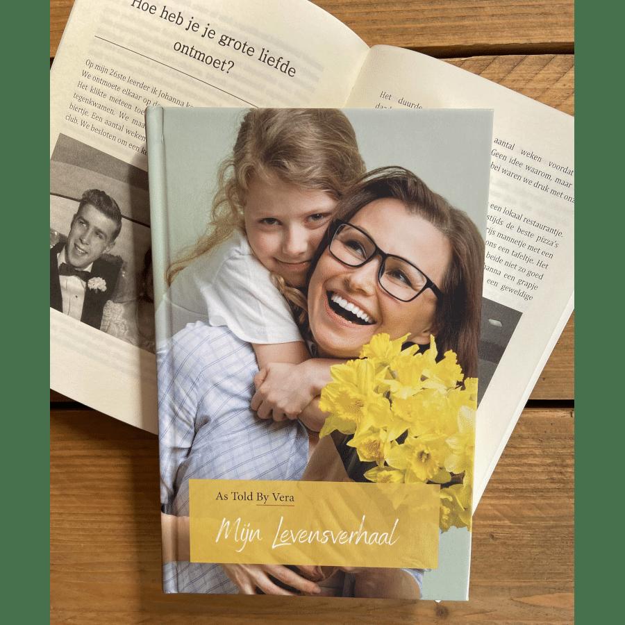 Eigen biografie schrijven - Cadeau voor Oma
