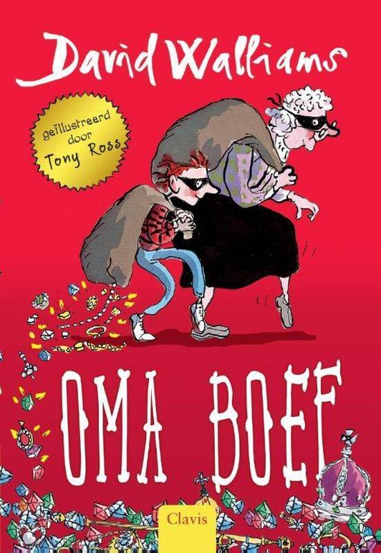 Oma Boef - Boek voor kleinkind