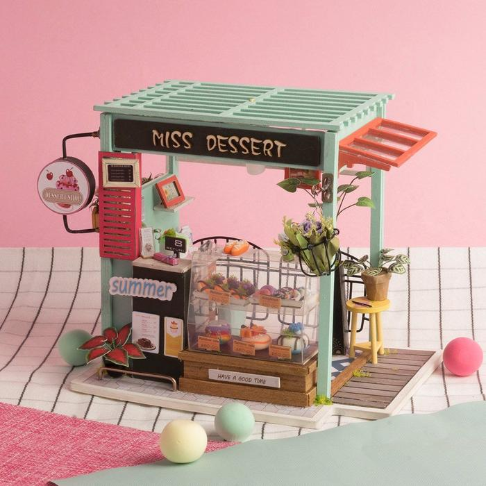 Miniatuur bouwpakket - knutselen voor volwassenen